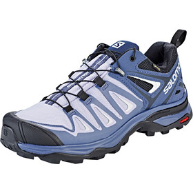 Salomon X Ultra 3 GTX Kengät Naiset, languid lavender/crown blue/navy blue